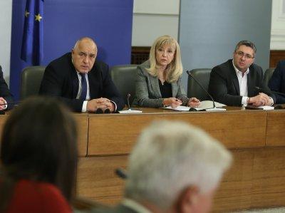 Премиерът, трима министри и Севделина Арнаудова от ГЕРБ са под карантина заради зам.-министър Нанков