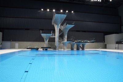 Токио откри плувния център за Олимпийските игри (Снимки)