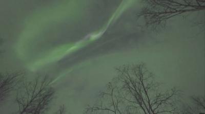 Танц на светлините над Финландия