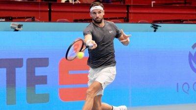 С победа над Циципас Григор Димитров се класира за четвъртфиналите във Виена