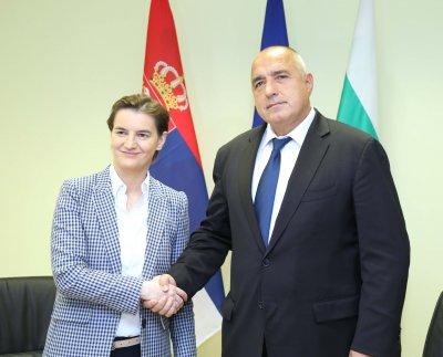 Борисов поздрави Бърнабич за преизбирането й като премиер на Сърбия