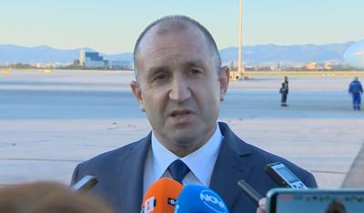 Президентът Радев критикува предложения бюджет за догодина