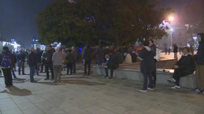 109-а вечер на протести в София