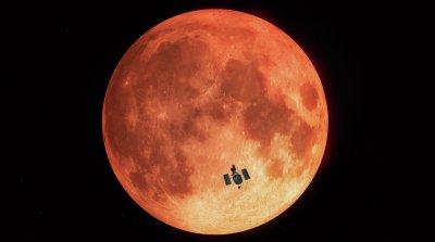 Вода на Луната: Откриха водни молекули край голям лунен кратер