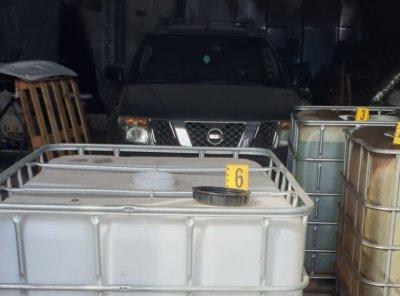 Незаконна бензиностанция е открита в автосервиз край Дупница