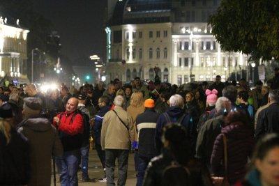 110-та вечер на протести в София