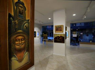 Кеазим Исинов с ретроспективна изложба за 80-годишния си юбилей