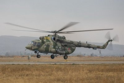 Свалиха руски хеликоптер над Армения