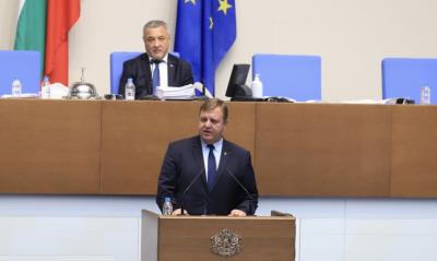 Каракачанов: България няма да отстъпи от позицията си за Република Северна Македония