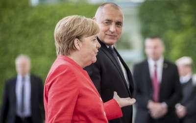 Премиерът Борисов проведе телефонен разговор с германския канцлер Меркел