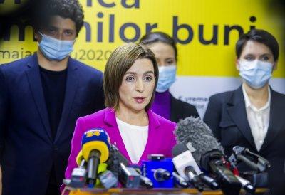 Молдова избра жена президент