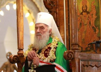 Сръбският патриарх Ириней почина след боледуване от COVID-19