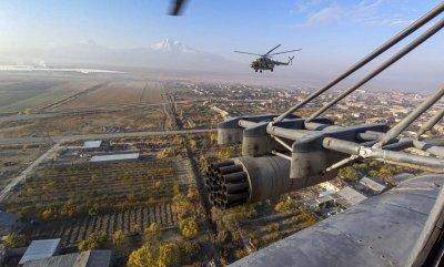 Още 18 самолета с руски миротворци пристигнаха в Армения