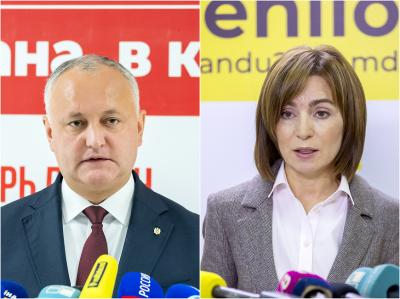Втори тур на президентските избори в Молдова