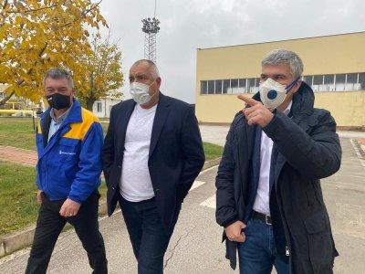 """Премиерът Борисов инспектира разширяването на """"Чирен"""""""