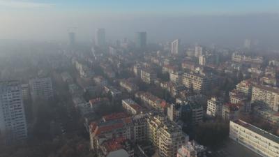 Опасно мръсен въздух в столицата и днес