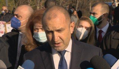 Радев: България трябва да даде съгласие за начало на преговорите със Скопие, след като се изкорени езикът на омразата