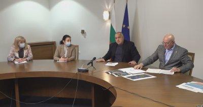Борисов проведе разширено съвещание с министрите Аврамова, Танева и Димитров