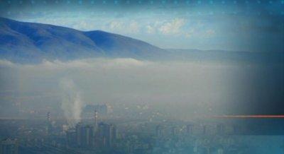 София в червения сектор по замърсяване тази сутрин