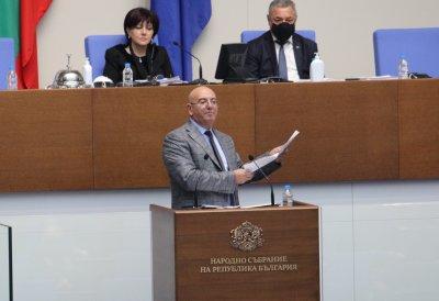 Министър Димитров предупреди за водна криза в Бургас, а през 2021-ва - и в земеделието