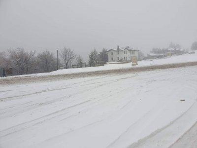 5 см сняг е натрупал на прохода Шипка