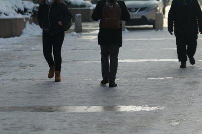 По-малко пострадали от поледиците в София заради строгите мерки