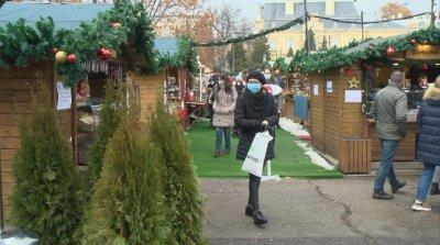 Спазват ли се мерките за безопасност на Немския коледен базар в София?
