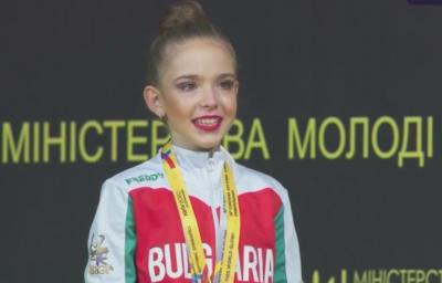 Европейската шампионка при девойки от Киев посвети медала си на българските медици