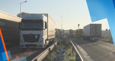 Превозвачи на протест: Бедстват над 3 денонощия на българо-турската граница