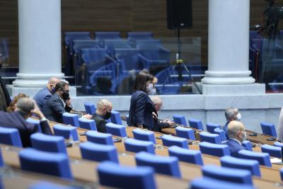 НС отхвърли искане на БСП за изслушване на премиера за водата за Бургас