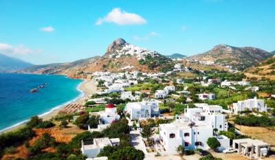 На малкия остров Скирос се борят срещу големите строежи - заедно и с подкрепата на ЕС