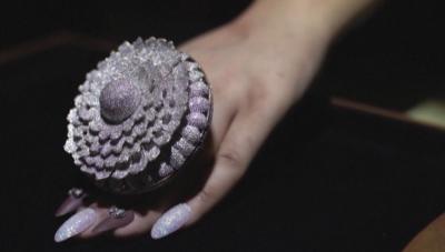 Пръстен с 12 638 диаманта в Рекордите на Гинес