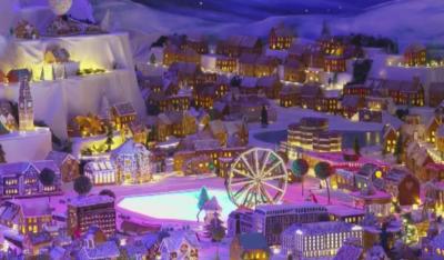 Откриха най-големия град от джинджифилови сладки в Норвегия