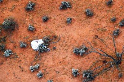 Капсулата с проби от астероида Рюгу се приземи успешно в Австралия (Снимки)