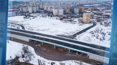 """Пуснаха отсечка от Околовръстния път между """"Младост"""" и """"Горубляне"""""""