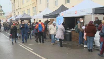 Отвориха рибен пазар в София за Никулден
