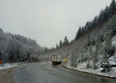 Сняг вали в областите Ловеч, Плевен, Стара Загора и Търговище