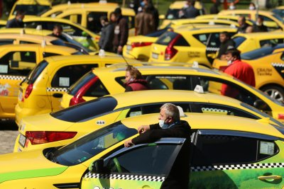 На 15 декември: Общонационален протест на таксиметровите водачи и превозвачи