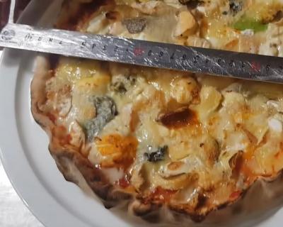 Пица с 254 вида сирена влезе в рекордите на Гинес (Видео)