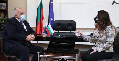 Борисов обсъди с Херо Мустафа американските инвестиции и декларацията за 5G