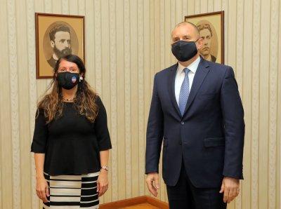 """Президентът Румен Радев и посланик Херо Мустафа обсъдиха инициативата """"Три морета"""""""