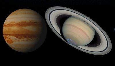 """Наблюдавахме рядко астрономическо явление - Юпитер и Сатурн """"като една звезда"""""""
