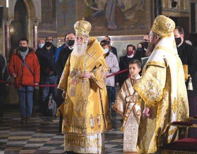 Българският патриарх Неофит отслужи празнично богослужение за Рождество Христово