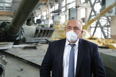 Бронираните машини за Сухопътните войски ще се правят в Търговище