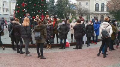 Протест на ресторантьори в Пловдив