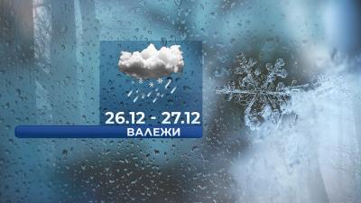 Сняг се очаква в периода 26 - 27 декември