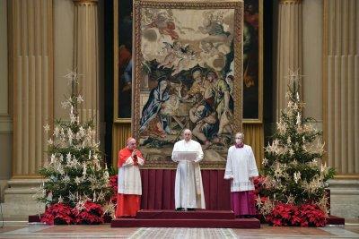 "Рождественско послание и благословия ""Урби ет Орби"" на Папа Франциск"