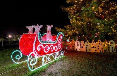 Коледният дух в София (Снимки)