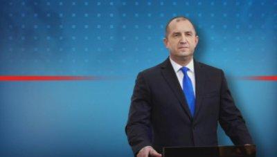 Президентът Радев: Здраве, топлина, надежда и вяра във всяко българско семейство