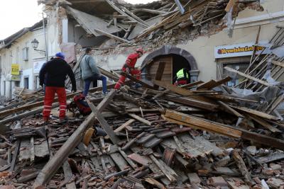 След земетресението в Хърватия: Започна събирането на хуманитарна помощ
